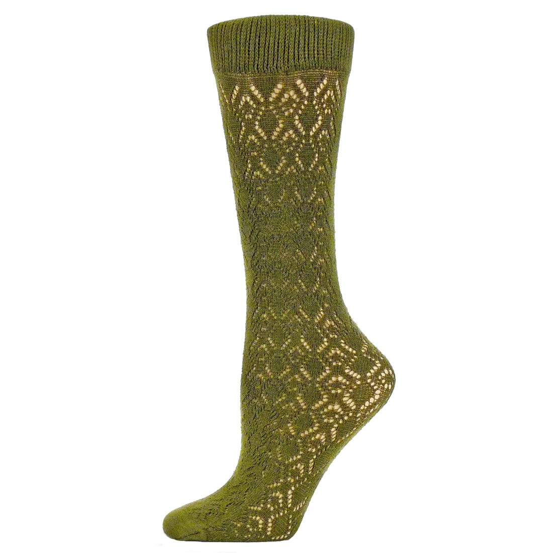 B.ella Doris Cotton Womens Crochet Trouser Sock (One Size - Crew) | EBay